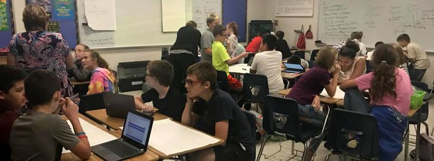 Middle school creates coding club for students