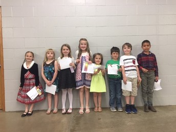 2019 Clover Kid Speech Contest