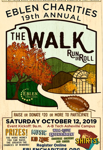 Join Our Own Ms. Abby & the CLAXTON BUZZ Team for Eblen's Walk, Run, or Roll!