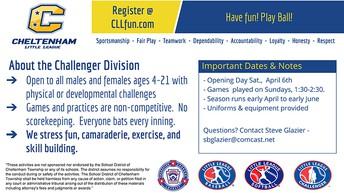 Cheltenham Little League Challenger Division