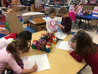 Kindergarten Writes and Illustrates