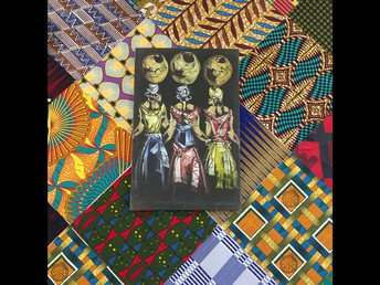 African, Cambodian, & Mexican textiles donated by Terry Douglas