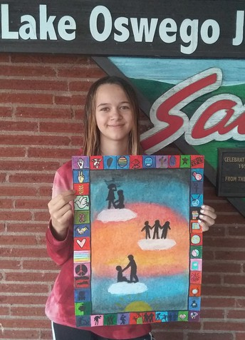 LOJ Lions Club Peace Poster Contest Winner