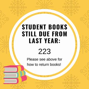 Get those books back!