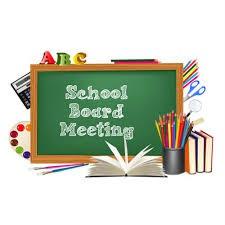 School Board Meeting Coming Soon