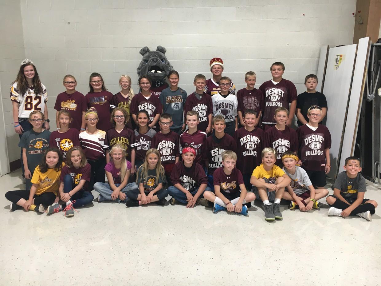 5th Graders have Bulldog Pride!