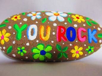 Kindness Rock Garden