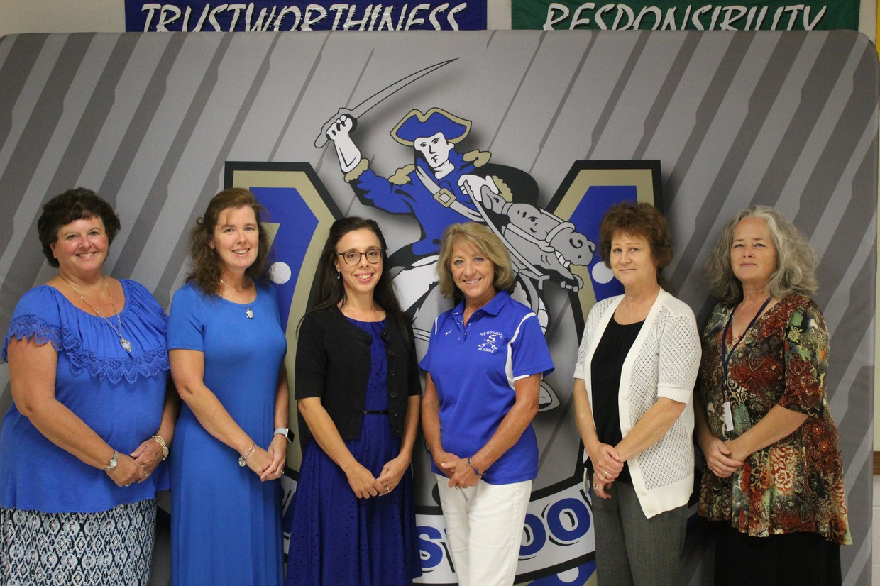 Photo of the SHS office staff.
