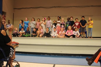 Second Graders Performed!