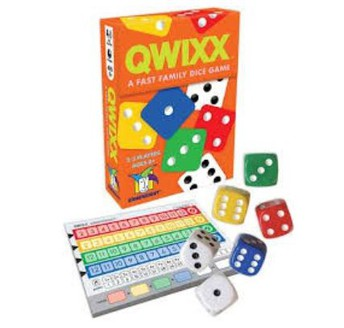 QWIXX- A Fast Family Dice Game