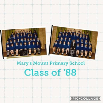 ARE YOU A PAST 1988 MARY'S MOUNT STUDENT OR KNOW ONE?