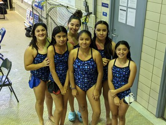 MHS Girls Swim Team