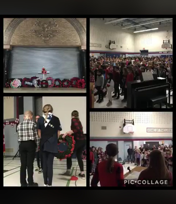 Our Remembrance Day Service: A truly impactful assembly well attended by our local and parent community