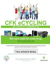 Recycling Program to support our Libraries