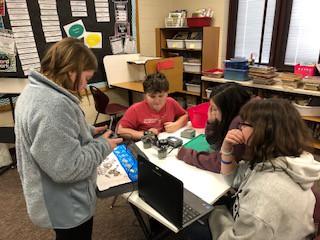 PLTW - 5th grade with robotics