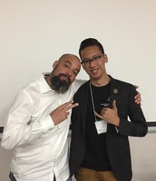 Dr. Jeff Duncan-Andrade & UNLV preservice teacher Louis Lim