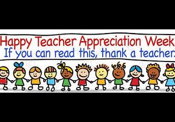 Staff Appreciation Week - May 7 - 11