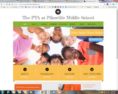 Pikesville Middle's PTA Launches with New Website