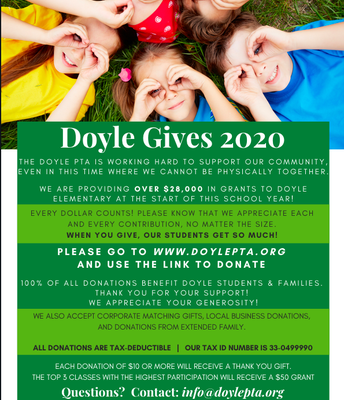 DOYLE GIVES FUNDRAISER