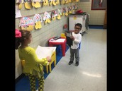 Kdg. friends recording each other!