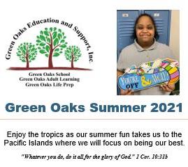 Green Oaks Summer 2021