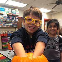 Pumpkin fun in Kinder