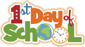 1st Day of School - Wednesday, August 16th