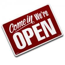 THE OFFICE IS NOW OPEN