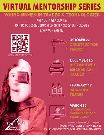 Young Women in Trades & Technologies (YWITT)