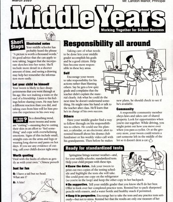 Middle Years English