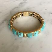 Sawyer Stone Stretch Bracelet