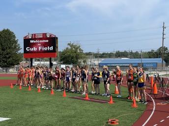 Girls XC Season off and running!
