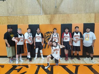 Jr. High Boys' Basketball