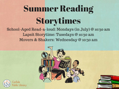 Summer Storytimes
