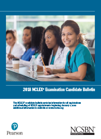 NCLEX Bulletin & Fact Sheet