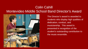 Colin Cahill