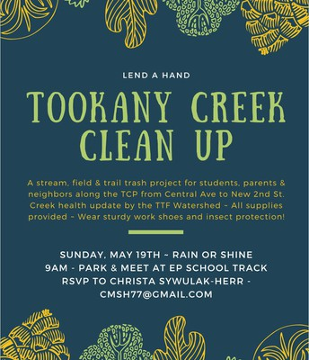 Tookany Creek Clean Up