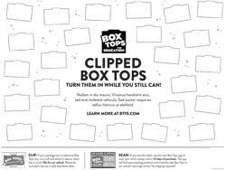 Summer Box Top Challenge!