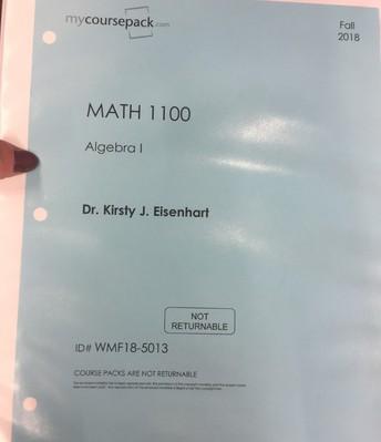 MATH 1100