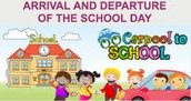 Before School Program and Carpool Drop Off Procedures