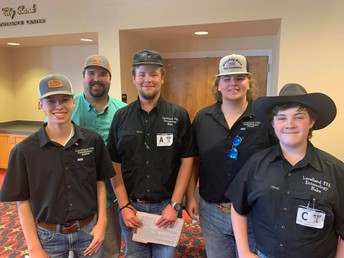 FFA Entomology Team Places 7th at State!