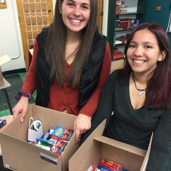 AVID students fulfill Boise Schools Foundation Kindness Grant