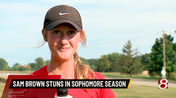 WISH-TV's Zone Extra Athlete of the Week: Samantha Brown
