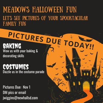 Halloween Pictures Due -Final Day Today, Sunday, 11/1