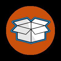 A Delivery Box Icon