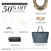 Trunk Show Exclusive Deals