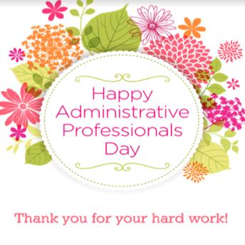 Administrative Professionals' Day - April 24