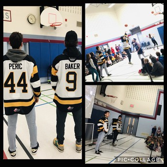 Kingston Frontenacs players joined us on Jan 15th!