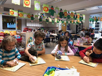 Guided Reading on Pajama Day