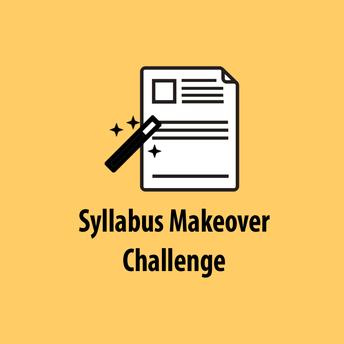 Thursday 8/20 - Syllabus Makeover Challenge - Part 2 (Visual)